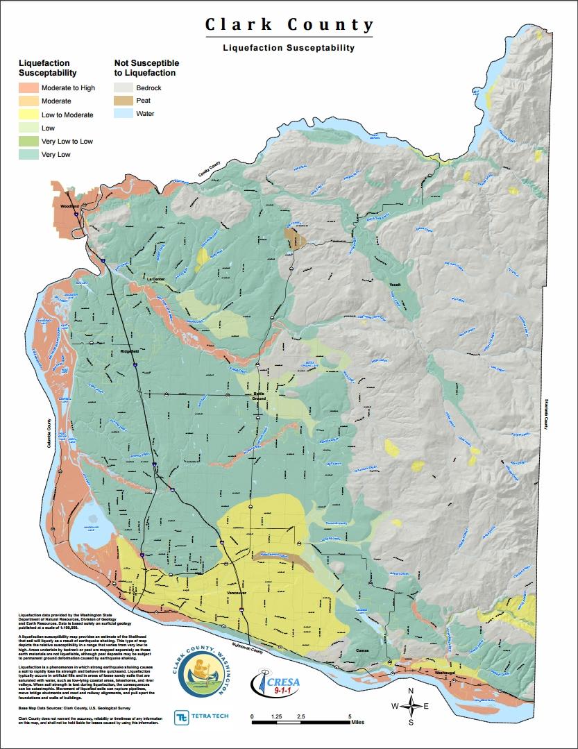Clark County Cascadia EQ LiquefactionSusceptibility
