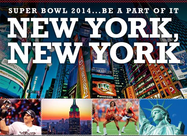 Ven y disfruta de la Super Bowl en New York