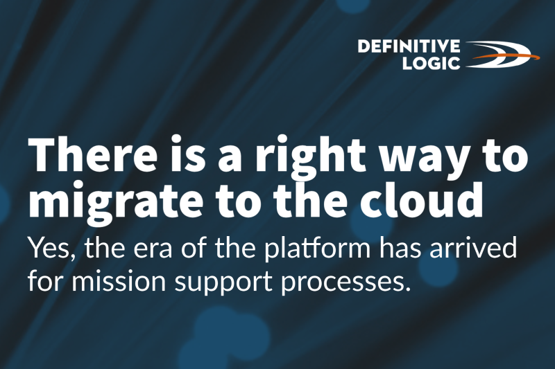 There is a right way to migrate to the cloud