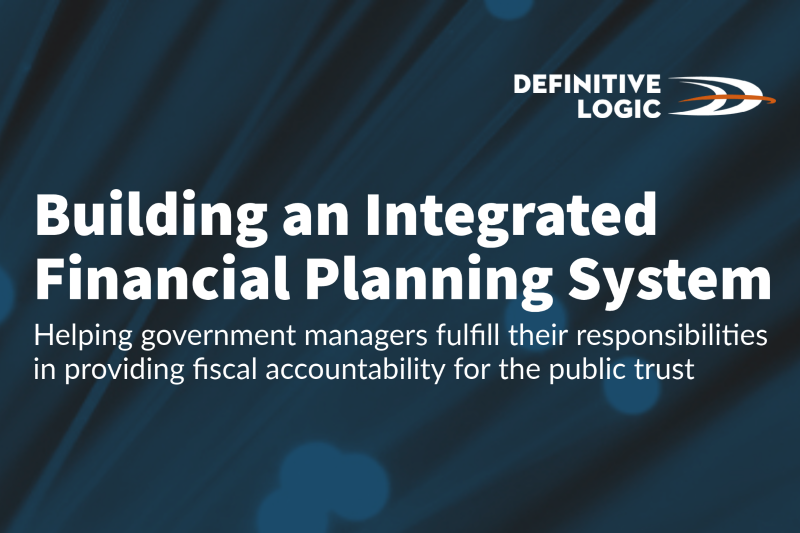 Building an Integrated Financial Planning System