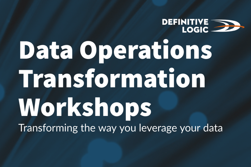 Data Operations Transformation Workshops now available