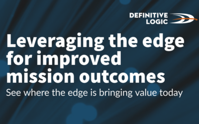 Leveraging the edge for improved mission outcomes