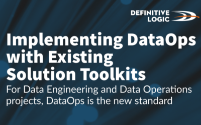 Implementing DataOps with Existing Solution Toolkits