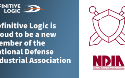 Definitive Logic is now a new member of the National Defense Industrial Association (NDIA)