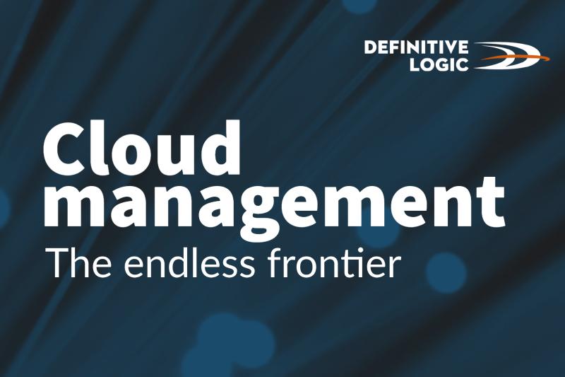 Cloud management – the endless frontier