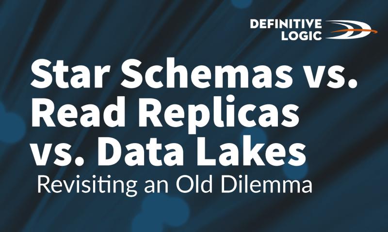 Star Schemas vs. Read Replicas vs. Data Lakes: Revisiting an Old Dilemma