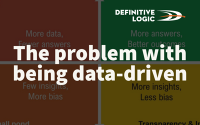 The problem with being data driven