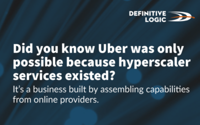 Did you know Uber was only possible because hyperscaler services existed?