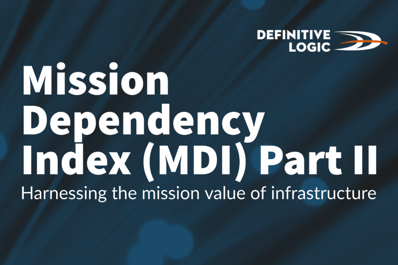 Mission Dependency Index (MDI): Harnessing the mission value of infrastructure Part II