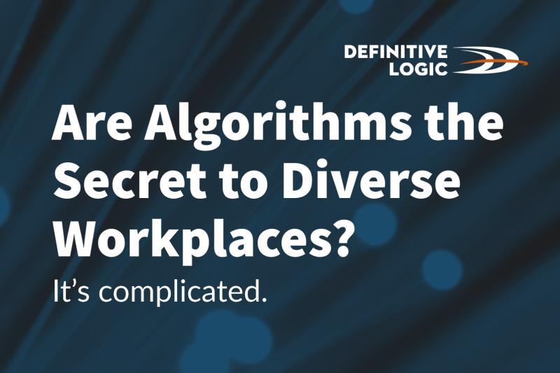Are Algorithms the Secret to Diverse Workplaces?