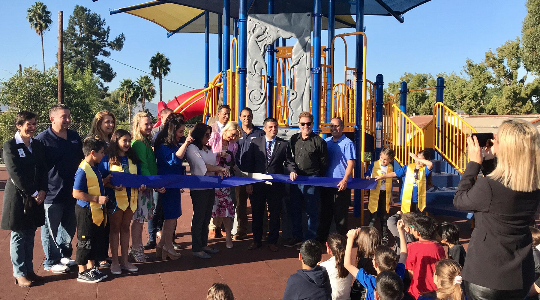 Balboa Elementary School Playground Ribbon Cutting Ceremony