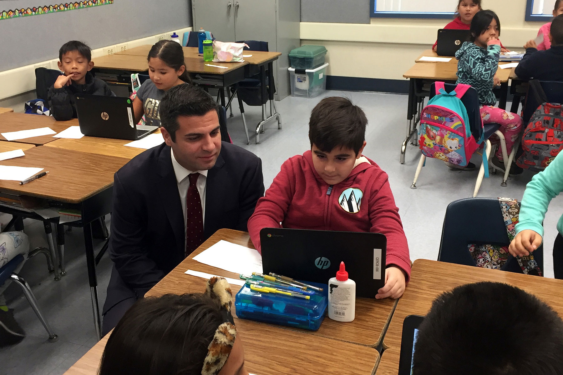 Cerritos Elementary School Coding Showcase January 2018