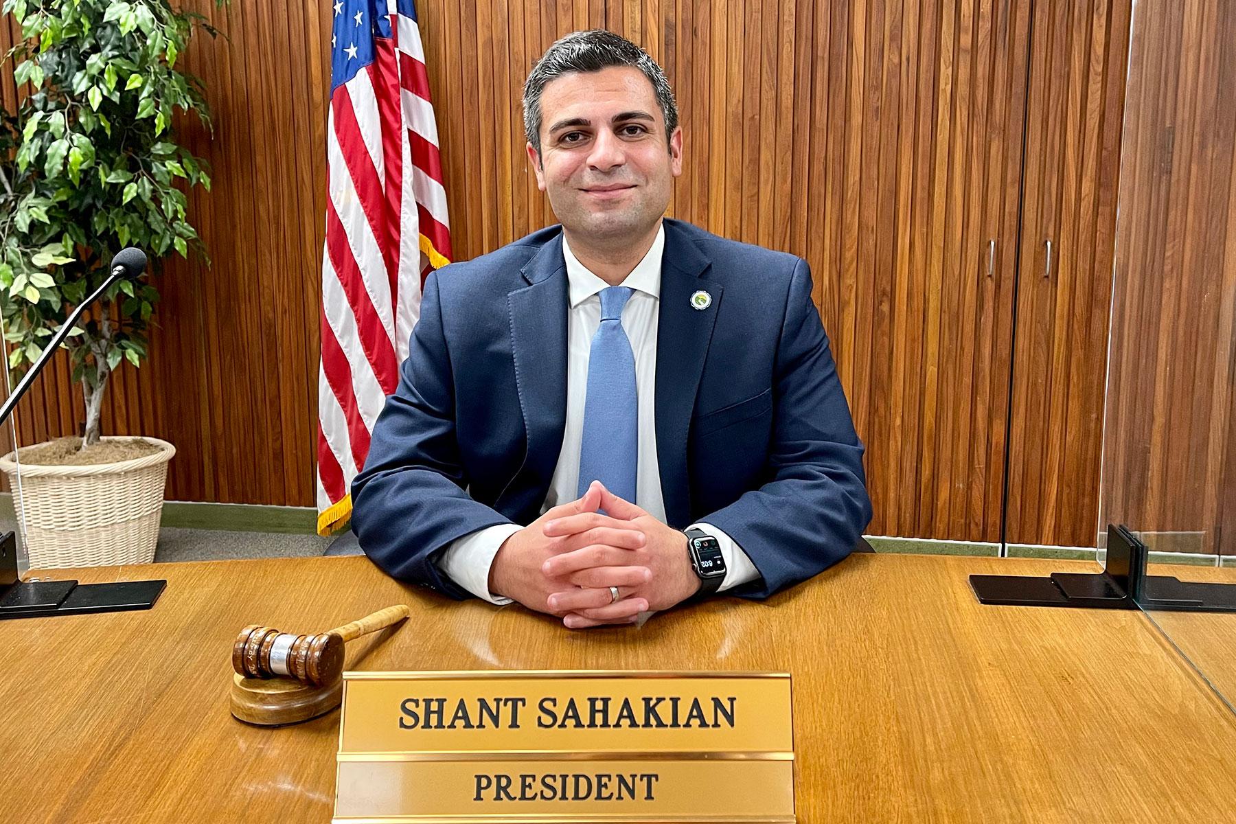 GUSD School Board President Shant Sahakian