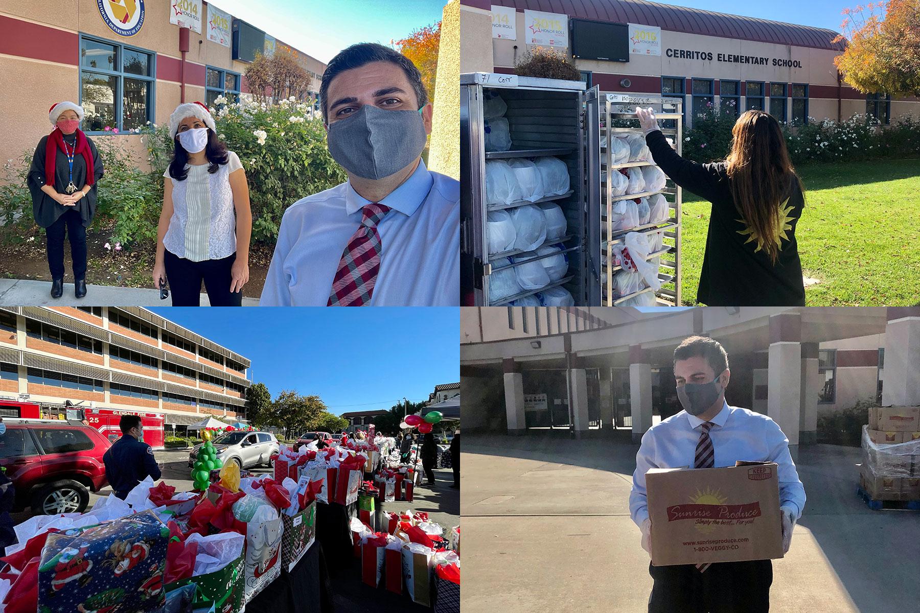 GUSD Winter Holiday Meal Kits & Holiday Toys Distribution