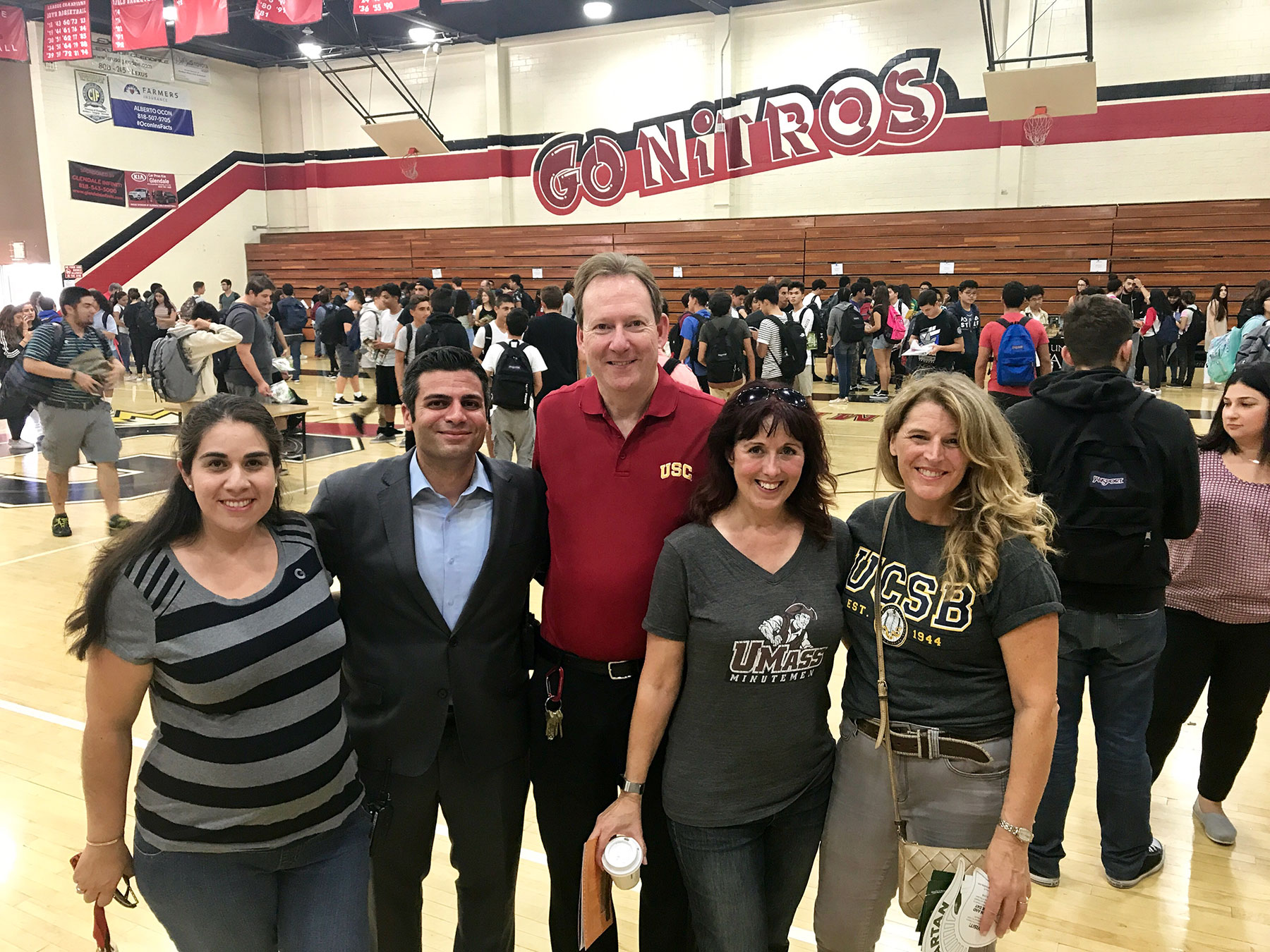 Glendale High Hosts First On-Campus College Fair