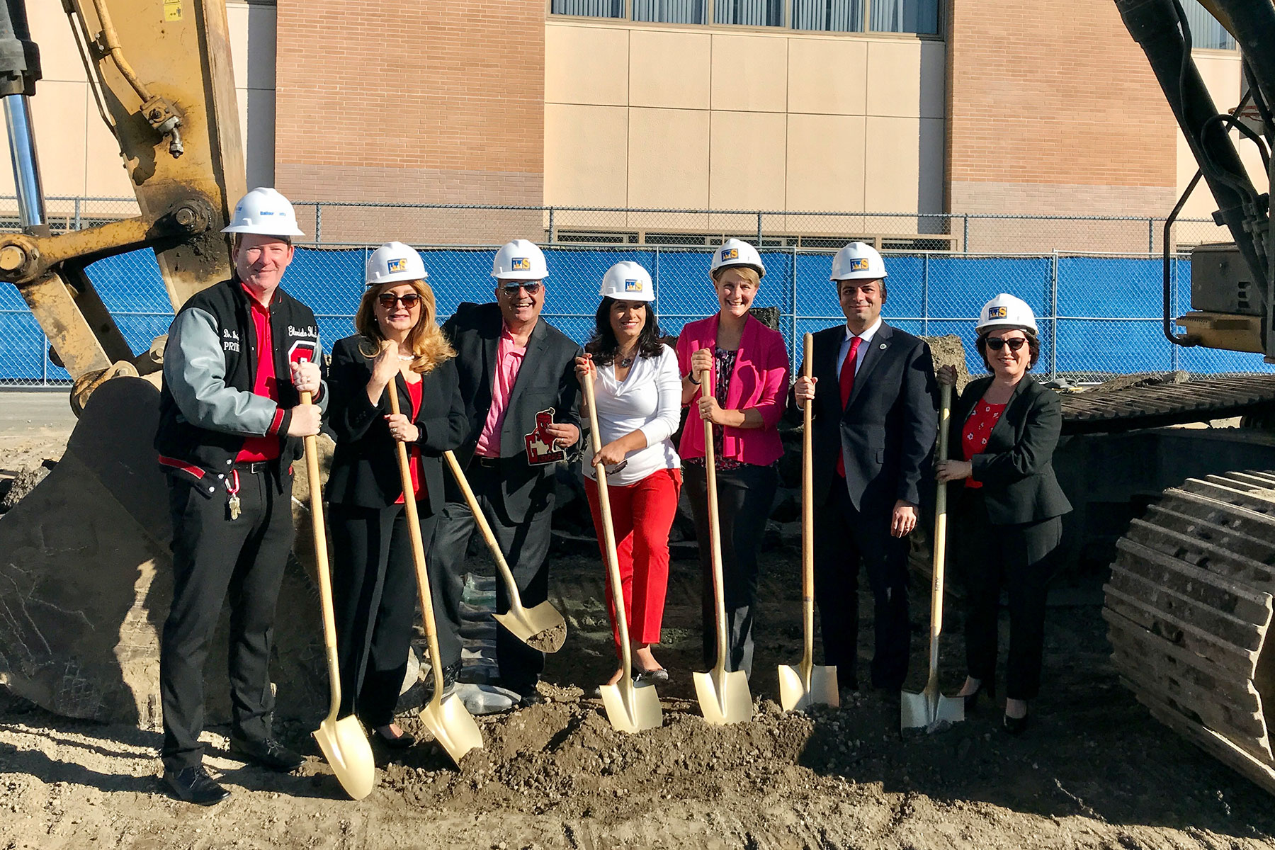 Glendale High School Aquatic Center Groundbreaking Ceremony