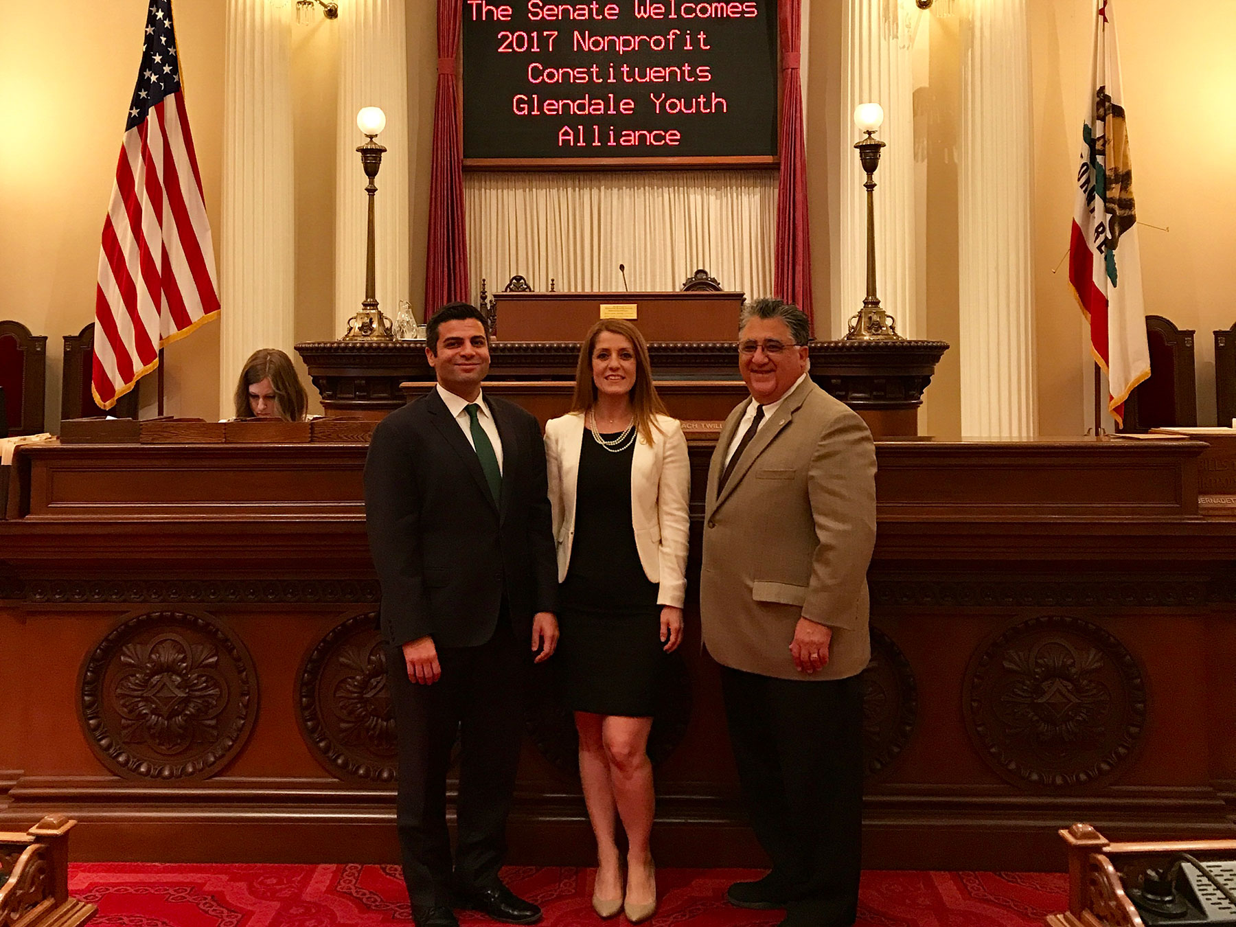 Glendale Youth Alliance Earns Top Honor from Senator Portantino