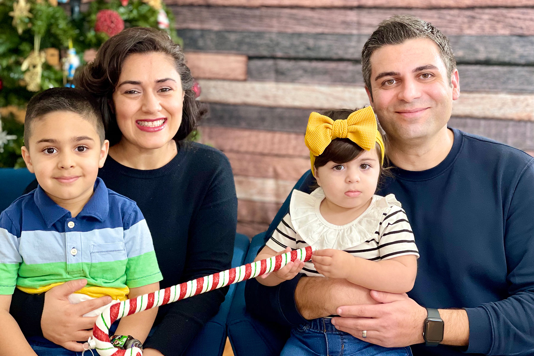 Sahakian Family New Year 2021