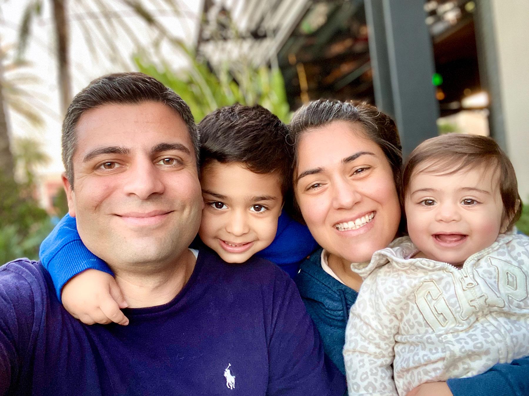 Shant Sahakian Family 2020