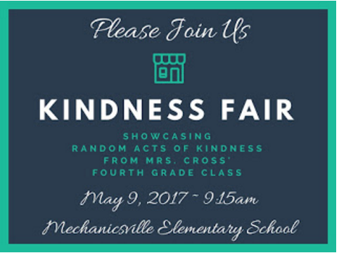 Kindness Fair 5-9-17