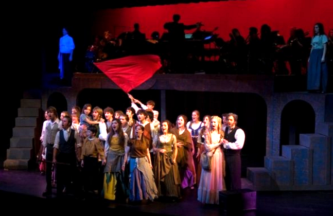 Andrew Bray Directing Les Miserables