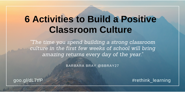 6 Activities to Build a Positive Classroom Culture (2)