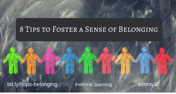 8-Tips to Foster a Sense of Belonging