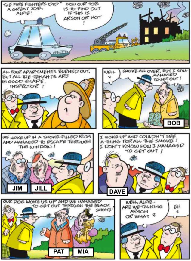 Arsonist Mystery (by Werner Wejp-Olsen)