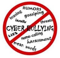 Cyberbullying poster
