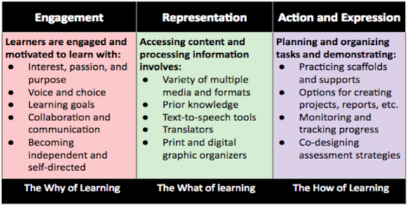 Strategies for UDL Principles