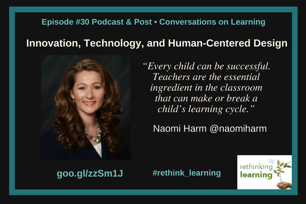 Innovation, Technology, and Human-Centered Design with Naomi Harm