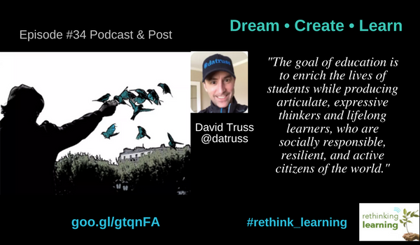 Episode 34 - Dream • Create • Learn