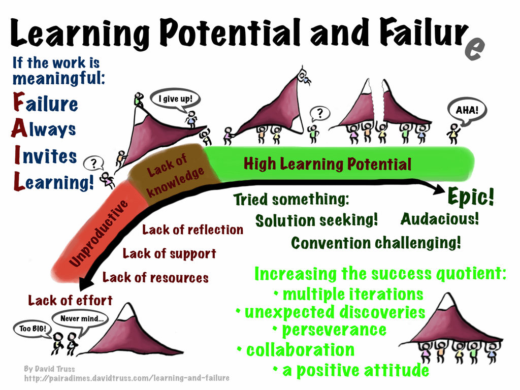 Learning and Failure from Dave Truss