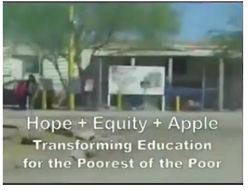 Hope + Equity + Apple
