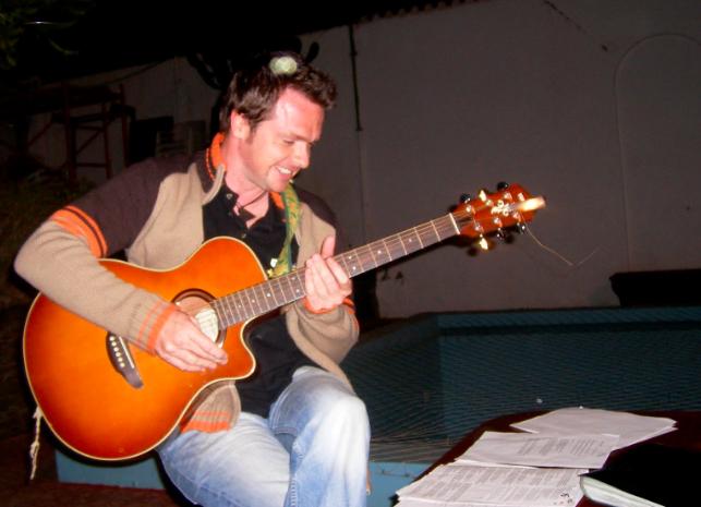 Kevin McLaughlin playing Guitar