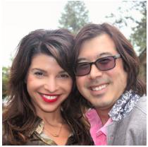 Ted Fujimoto and Leigh Faith