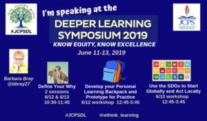Deeper Learning Symposium-Speaking