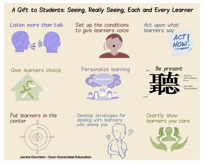 Seeing Students by Dr. Jackie Gerstein