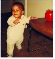 Sarah Thomas as a Baby