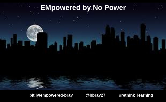 EMpowered by No Power by Barbara Bray