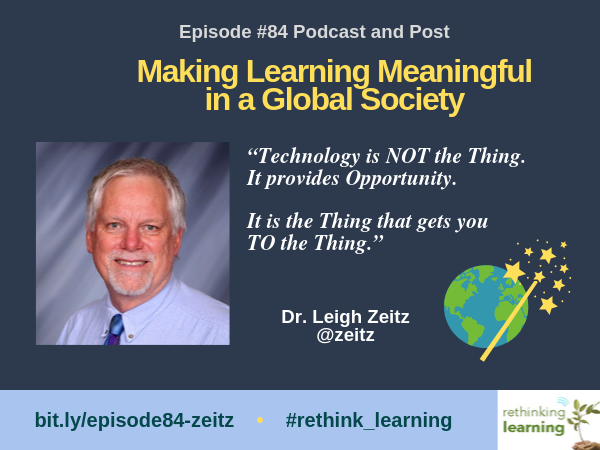 Episode #84 with Leigh Zeitz