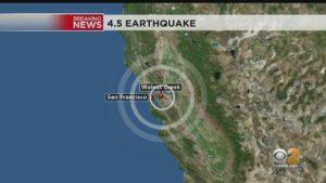 Earthquake 10/19 Walnut Creek