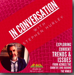 In Conversation with Stephen Hurley on voicEd Radio