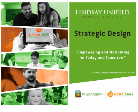 Lindsay Unified School District Strategic Design - link to PDF