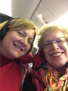 Cynthia Sistek-Chandler and Barbara Bray Selfie