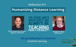 Reflection #11 - Paul Emerich France