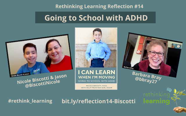 Reflection #14 with Nicole Biscotti and her son, Jason