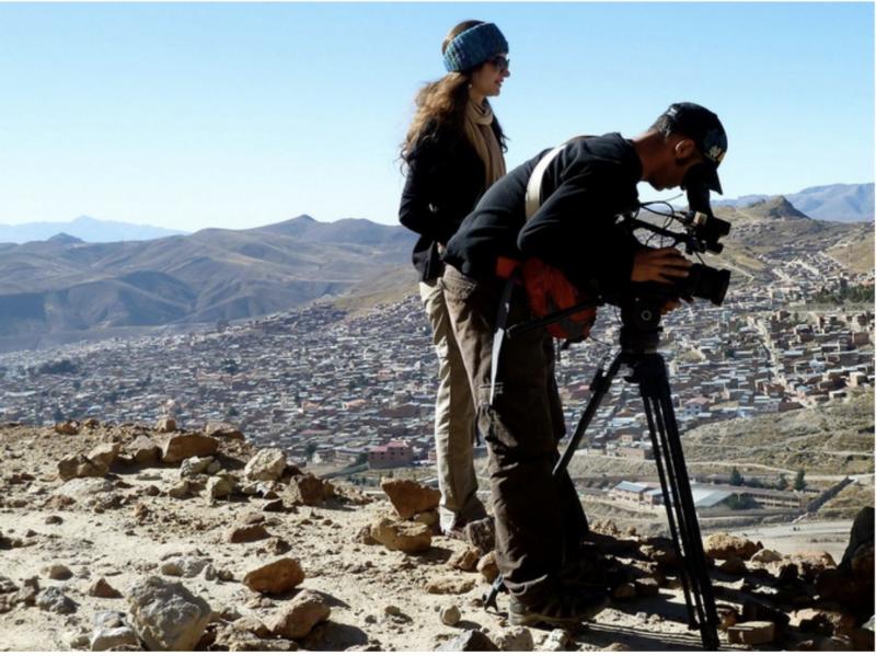 Juliana Tafur Directing Film