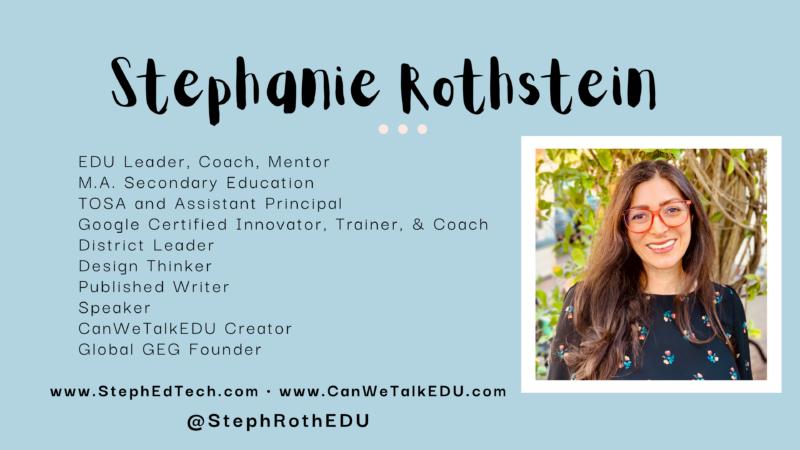 card for Stephanie Rothstein