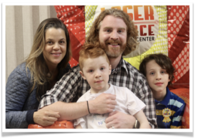 Sean Arnold's Family